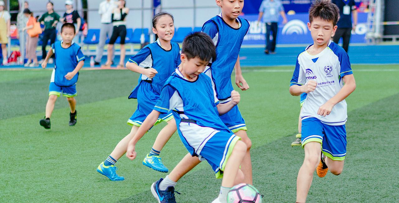 """央视报道世界名校足球赛—儿童友谊赛,宇通用行动诠释""""美好"""""""
