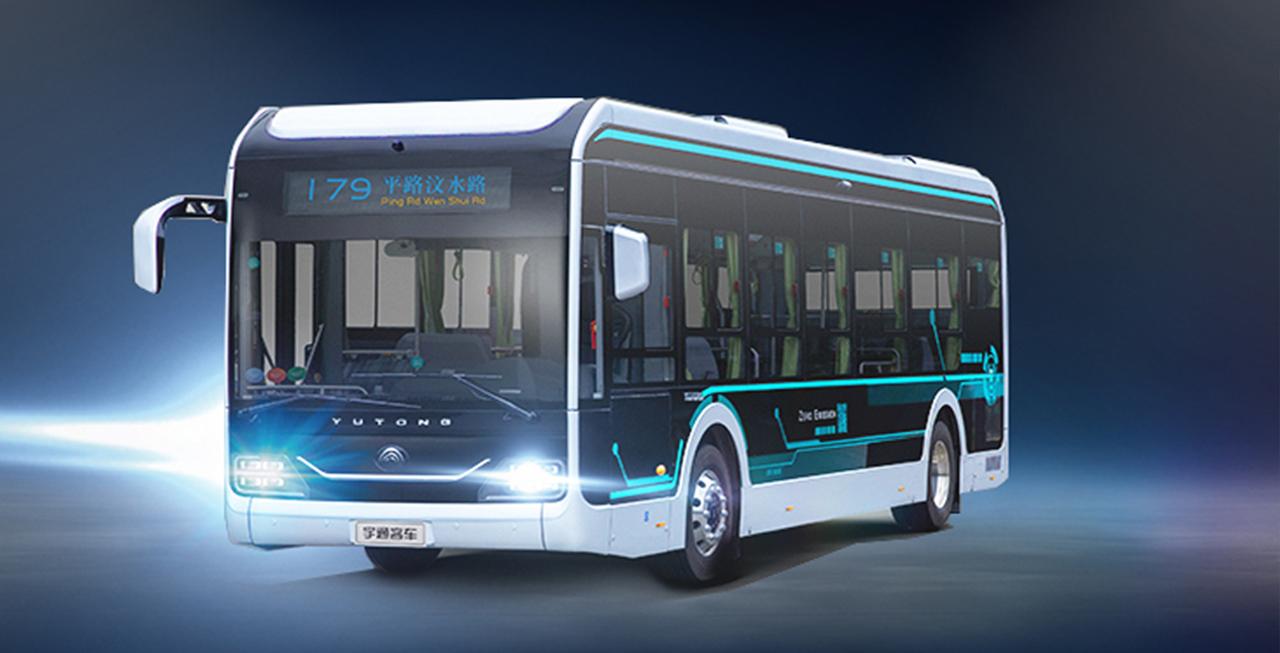 神秘大咖——宇通智能网联纯电动公交车