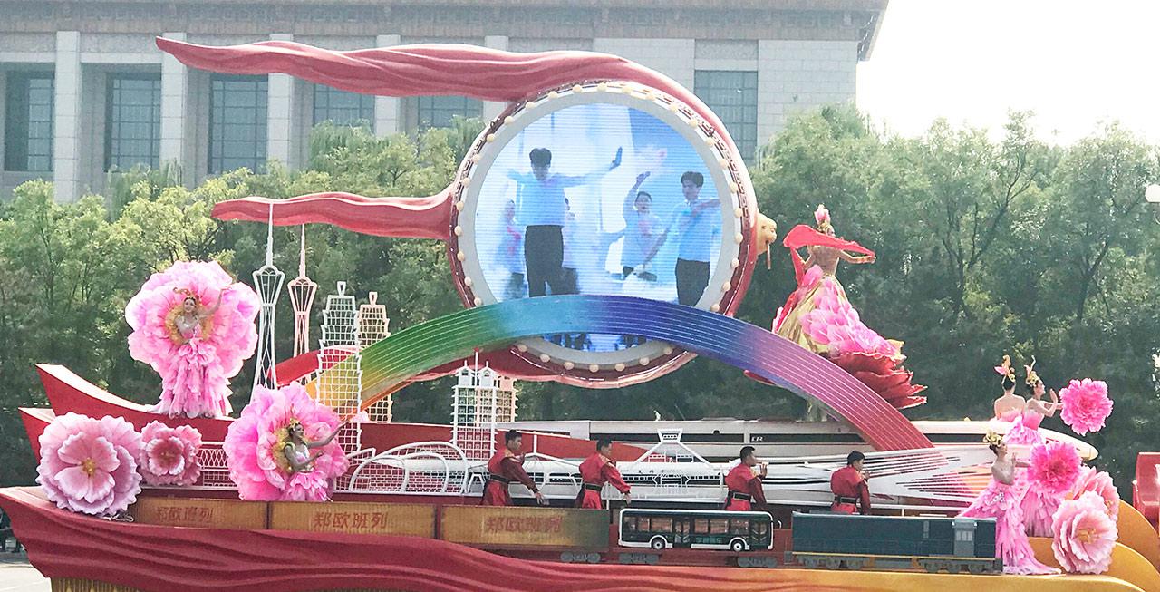 """揭秘河南彩车,宇通客车实力助阵""""出彩中原"""""""