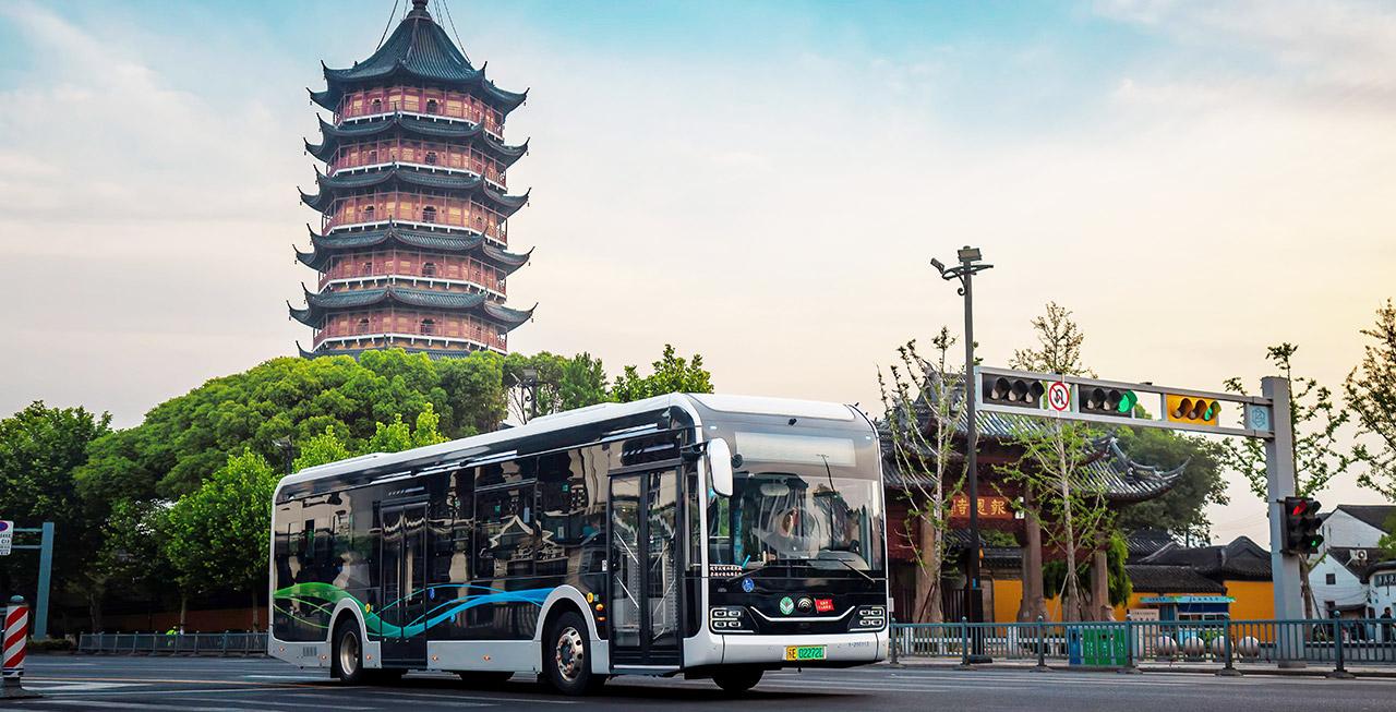 宇通智联公交走进江苏