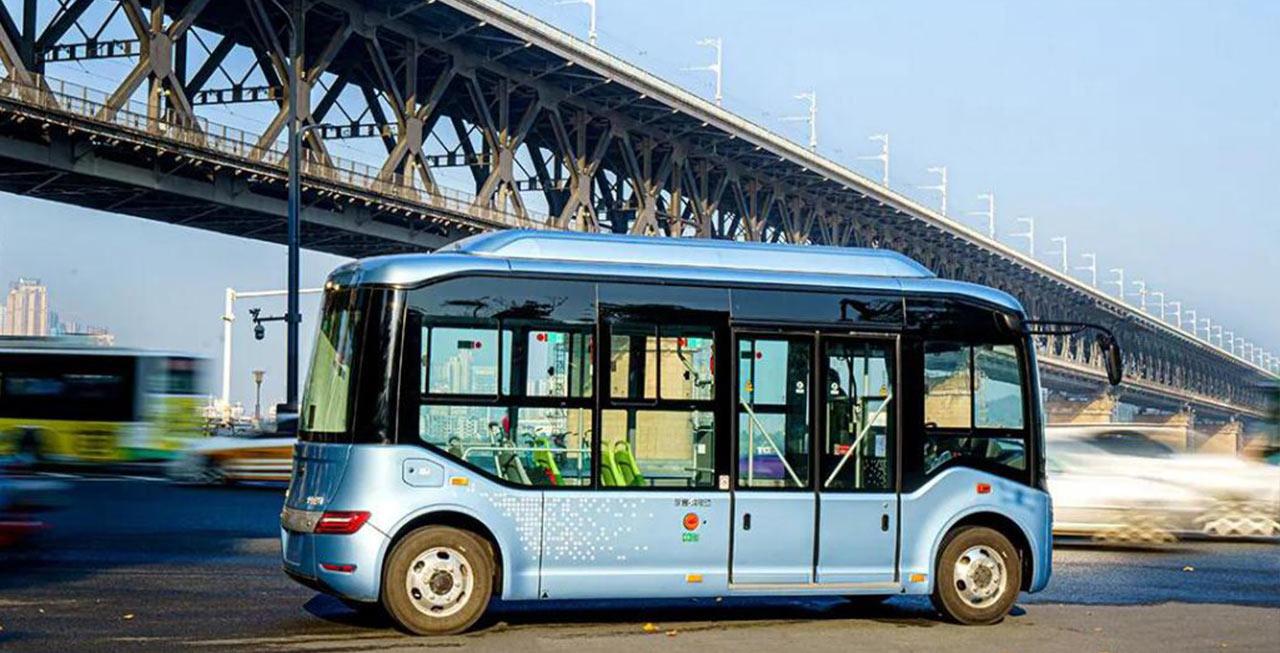 听说,社区出行微巴宇通E6S去武汉逛了一圈!