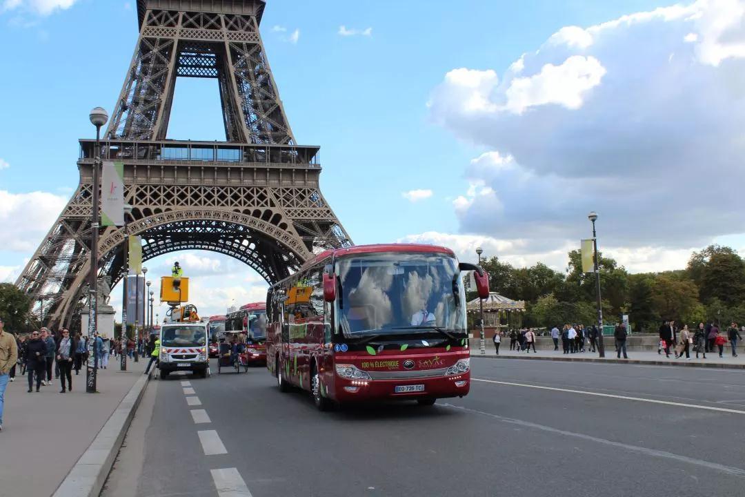 中国造宇通纯电动车在法国投运