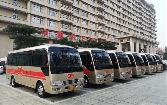 超2000辆皇冠体育:客车服务大阅兵