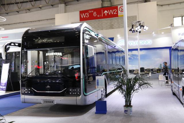 亮相2019世界智能网联汽车大会,宇通加速布局未来出行