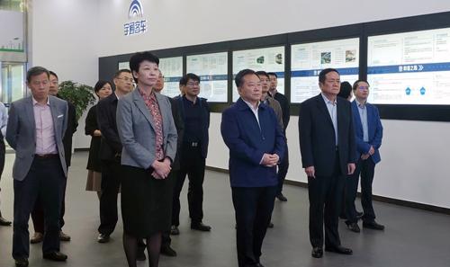 合肥市党政考察团调研宇通