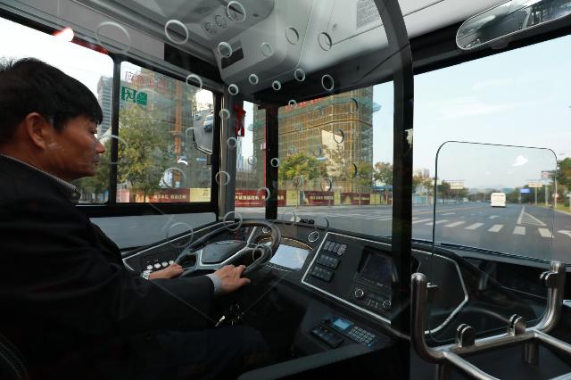 宇通智慧公交体验日亮相杭州,新造型高端公交引发热议