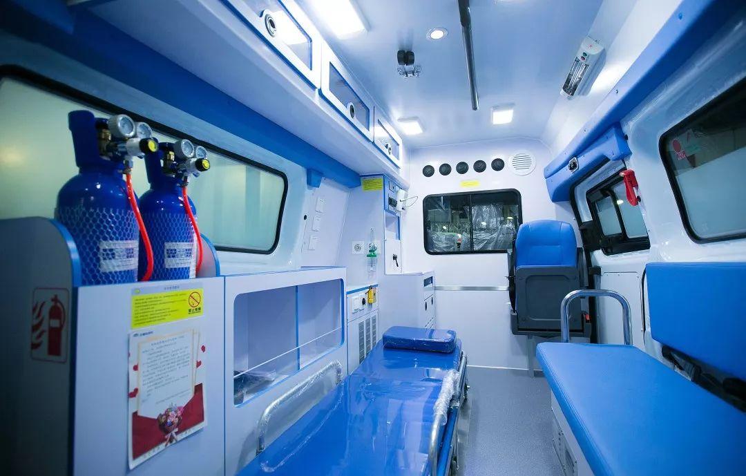 宇通捐赠负压救护车已开往武汉,紧急驰援火神山、雷神山