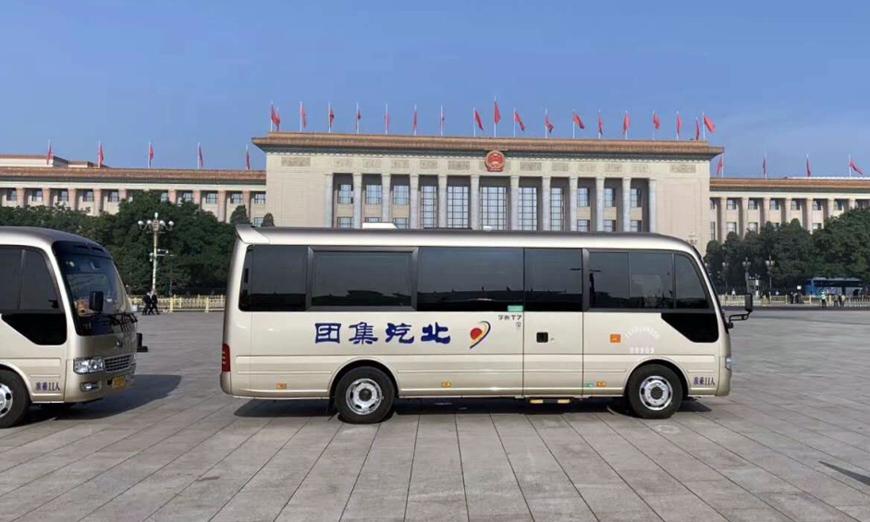 宇通连续16年服务全国两会,T7包揽所有中型公商务用车