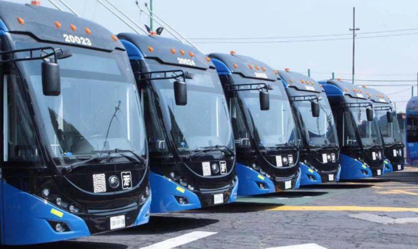 开创美洲双源无轨电车市场新纪元!130辆宇通客车将发往墨西哥