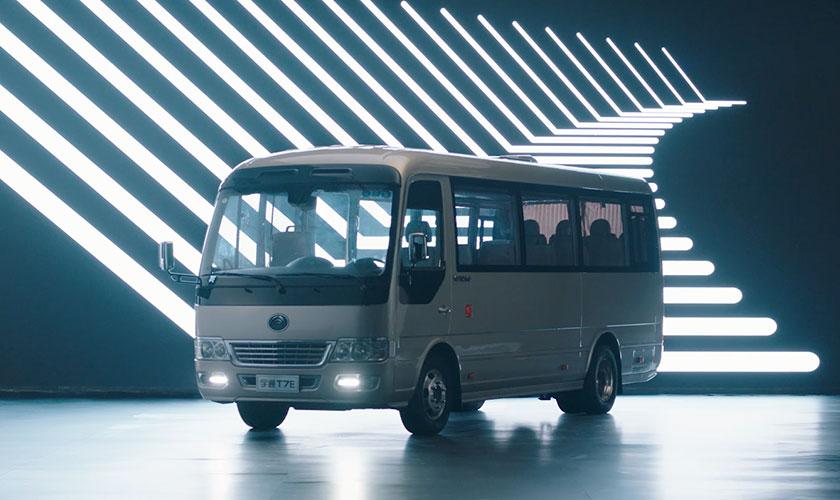 开启新能源公商务车新时代,宇通T7E与全系配置升级产品上市
