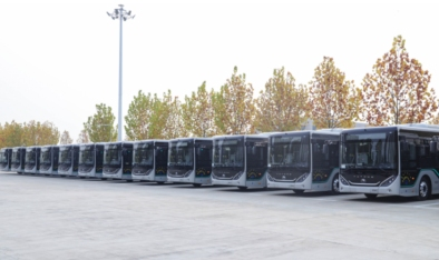 477辆宇通客车开启乌兰察布智能交通新纪元