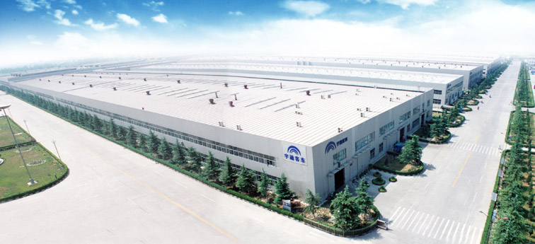 投资4亿元建成较前的客车生产基地