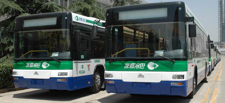 宇通公交叫响 深圳市场