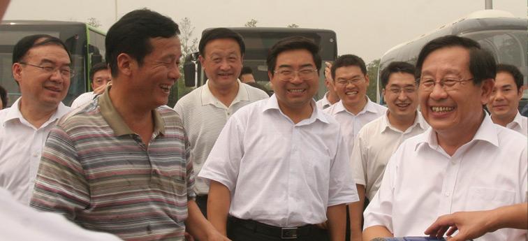 全国政协副主席、致公党中央主席、科学技术部部长万钢调研宇通