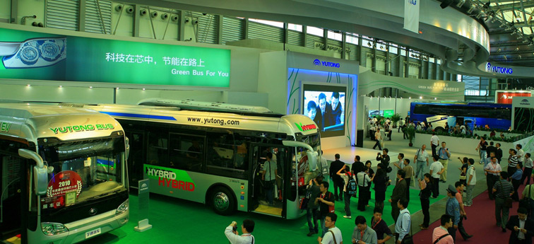 宇通客车获得2010BAAV年度较好客车制造商