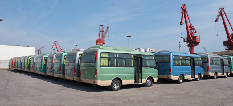 宇通490台客车交车仪式在加纳举行