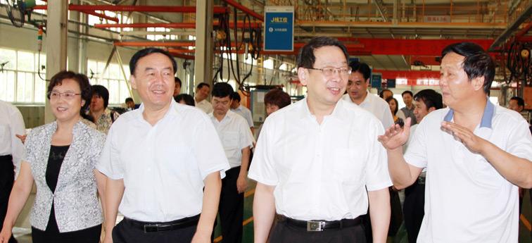 中国科协常务副主席、书记处第一书记、党组书记陈希调研宇通