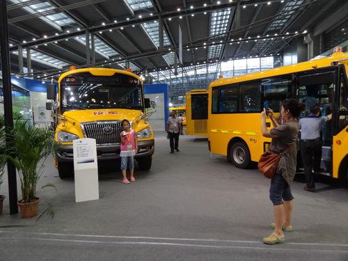 宇通客车全系产品登陆深圳交博会 超强实力备受业界瞩目