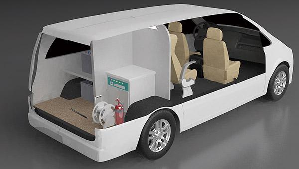 ZK5033XJC6食品检测车