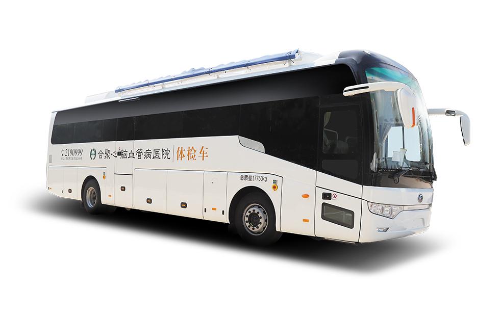 12米体检车 具备移动医院功能 ,实现全科诊疗,荷载多达22人,满足大批量外检团队出行。