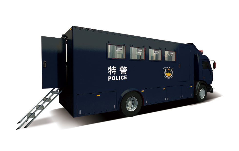 ZK5189XLYD61警用淋浴车 自动温控  舒适换气