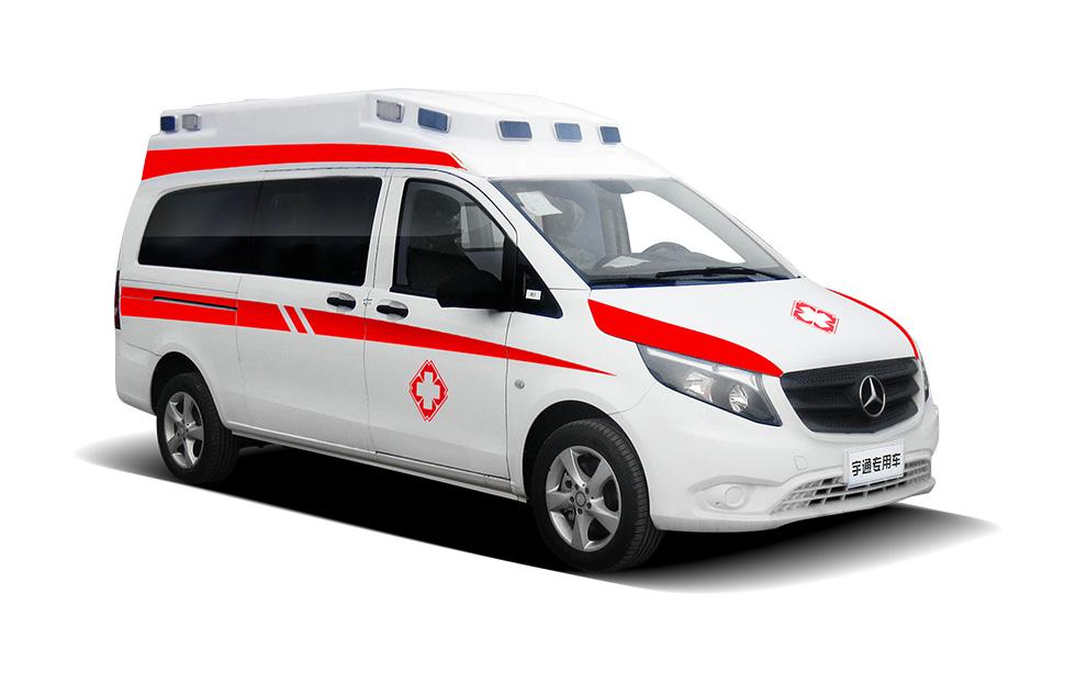 奔驰威霆安顺版监护型救护车